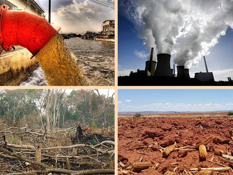 images of pollution and drought
