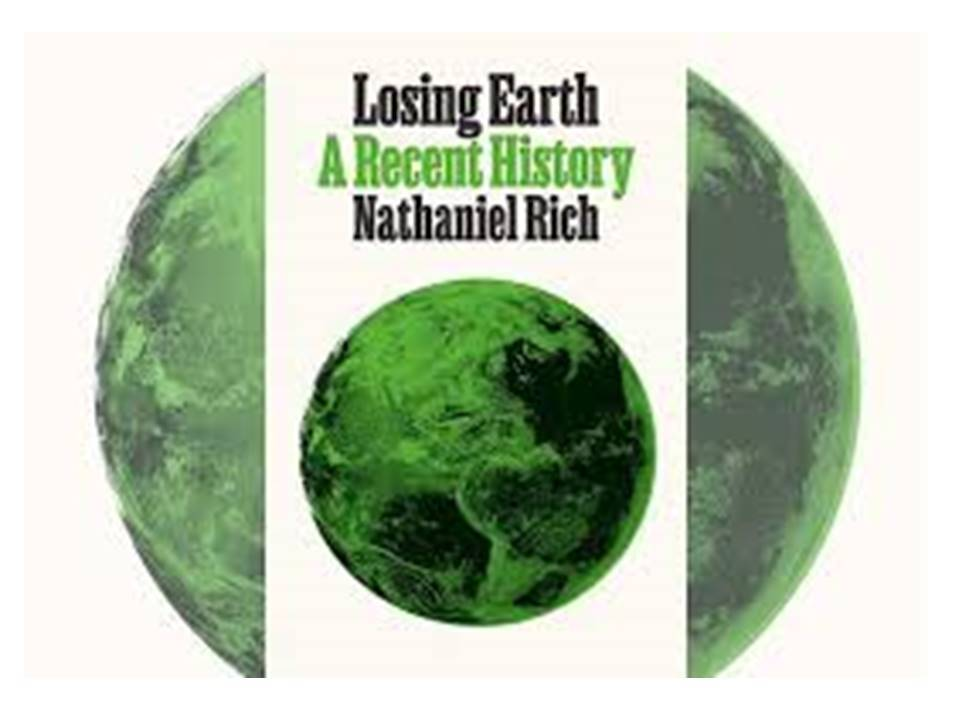book cover Losing Earth