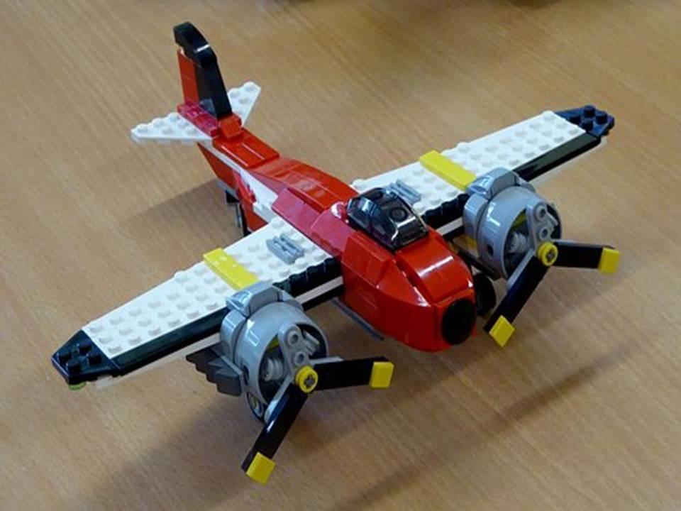 lego model airplane